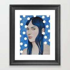 Bulles d'or Framed Art Print