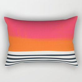 Sunset Ripples Rectangular Pillow