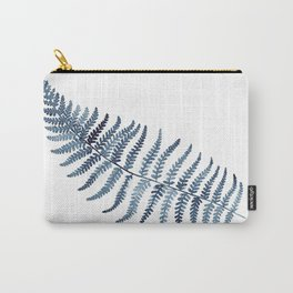 Indigo Fern 2 | Watercolour Painting Carry-All Pouch