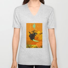 WITCHY CAULDRON Unisex V-Neck
