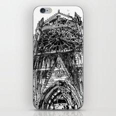 Notre Dame iPhone & iPod Skin