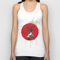 swallow Tank Tops featuring Swallow by Sekhmet