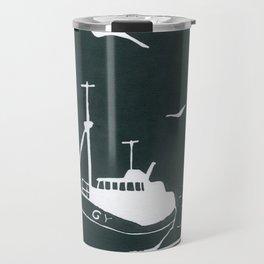 Comrades in Grey Travel Mug
