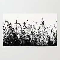 grass Area & Throw Rugs featuring grass by Ingrid Beddoes photography