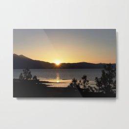 A Moment of Peace - South Lake Tahoe, California Metal Print