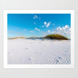 Pristine Sand Dune Art Print