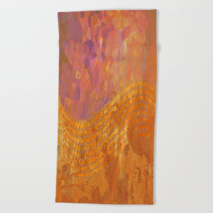 Light Wave Beach Towel