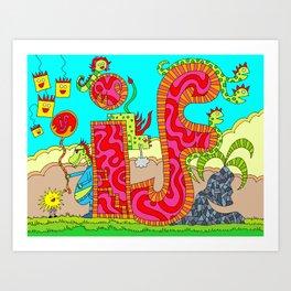 #88: If  Art Print