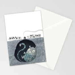 Let's bore for geothermal energy! Stationery Cards