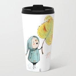 Goji and the leaf Travel Mug