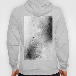 Creeping Black - Abstract black and white Hoody