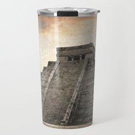 Mayan pyramid - Mexico Travel Mug