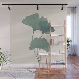Ginko Leaves Wall Mural