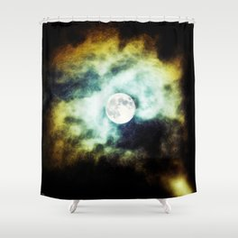 The Darkness Comes Shower Curtain