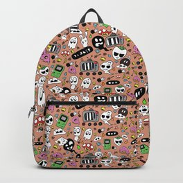 Doodles Pattern Backpack