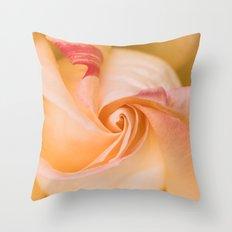 The swirl Throw Pillow