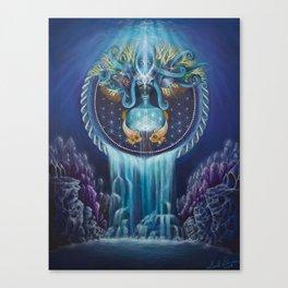El Agua es Vida Canvas Print