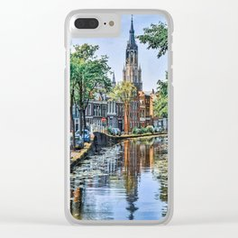 Postcards of Holland Clear iPhone Case