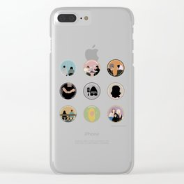 SANA BAKKOUSH: A MINIMALIST STORY Clear iPhone Case