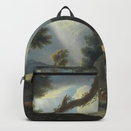 William Hodges Art Artistic Painting Oil On Canvas Backpack