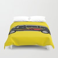 van Duvet Covers featuring Classic Van by Eyes Wide Awake
