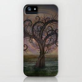 Golden Spiral Tree #3 iPhone Case