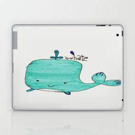 Whale you be my Valentine? Laptop & iPad Skin