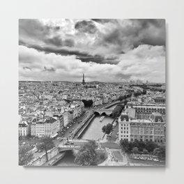 PARIS 12 Metal Print