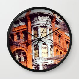 Seattle Reflected Wall Clock