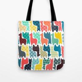 baby llamas Tote Bag