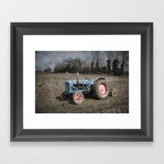Fordson Tractor Framed Art Print
