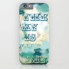 The Sky is the Limit Slim Case iPhone 6s