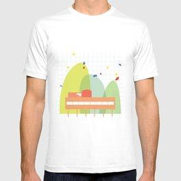 architecture - le corbusier T-shirt