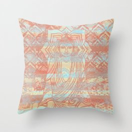 Buddha03 Throw Pillow