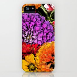 Power Flowers iPhone Case
