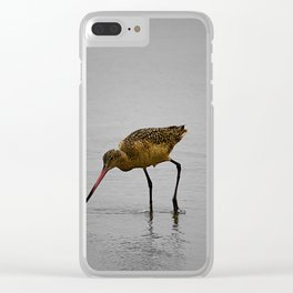 Marbled Godwit Clear iPhone Case
