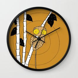 Lemur by Amanda Jones Wall Clock