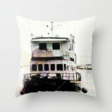 row row row Throw Pillow