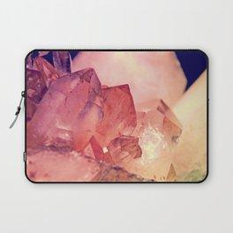 Quartz Mineral Gem Cluster Laptop Sleeve