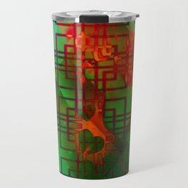 Shambala Matrix by Kenny Rego Travel Mug