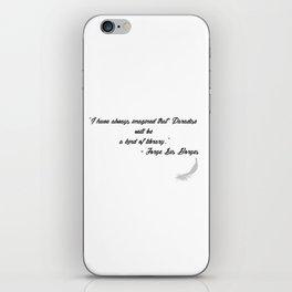Quote 3 iPhone Skin