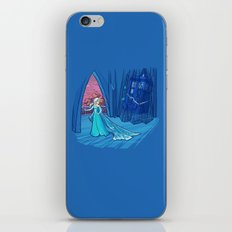 Frozen in Time and Space iPhone & iPod Skin