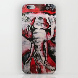 Elephants Never Forget iPhone Skin