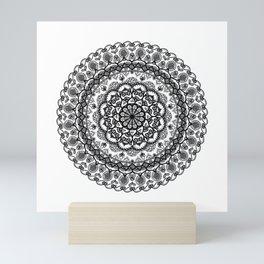 Intricate Mandala Mini Art Print