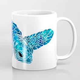 Sea Turtle Watercolor Art Coffee Mug