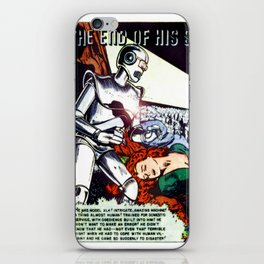 THE END OF HIS SERVICE (1940) iPhone Skin