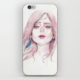 You're Pretty When You Cry iPhone Skin