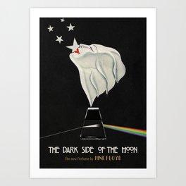 DARK SIDE OF THE MOON Art Print
