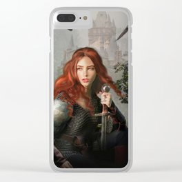 Heir of Windacre Clear iPhone Case