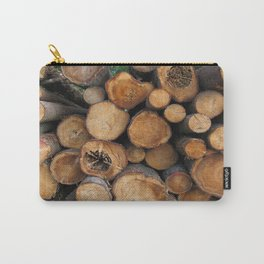 New Sawn Logs Carry-All Pouch